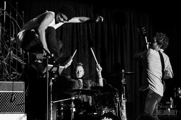 Osric Chau, Stephen Norton and Rob Benedict, Cabaret BurCon 2014