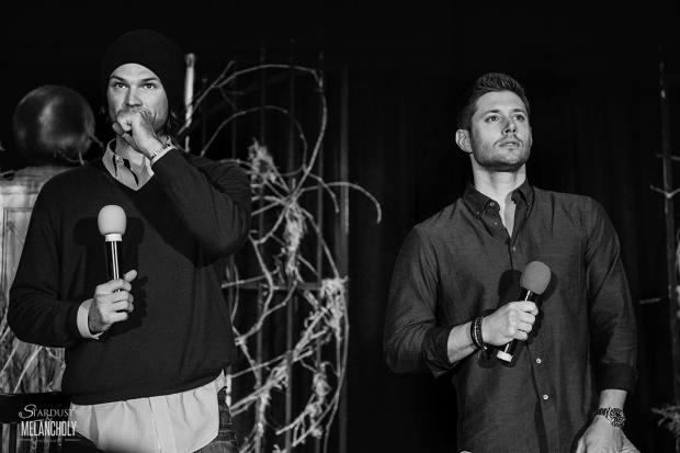 Jared Padalecki and Jensen Ackles, BurCon 2014