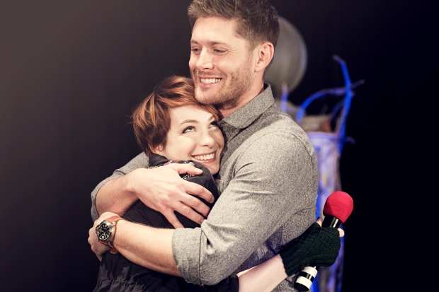 Felicia Day and Jensen Ackles, BurCon 2013