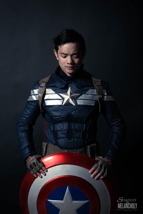 Osric Chau, Captain America, Vegas Cosplay Portrait, 2016