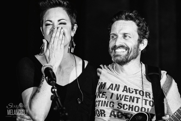 Kim Rhodes and Rob Benedict, PhxCon 2016