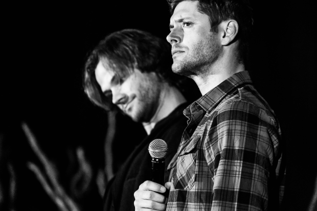 Even Jensen and Jared were a bit taken aback at Porncouver, Sunday, VanCon 2016