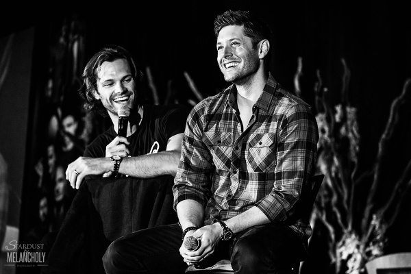 Jared Padalecki and Jensen Ackles, Sunday, VanCon 2016